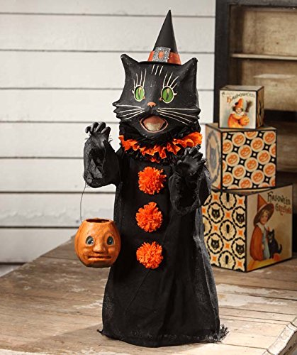 Scaredy Cat Ghoul Figurine
