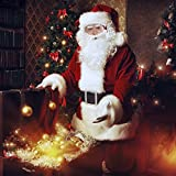 HorizonZ Adults Deluxe Santa Suit Men's Christmas Holiday Santa Claus Costume