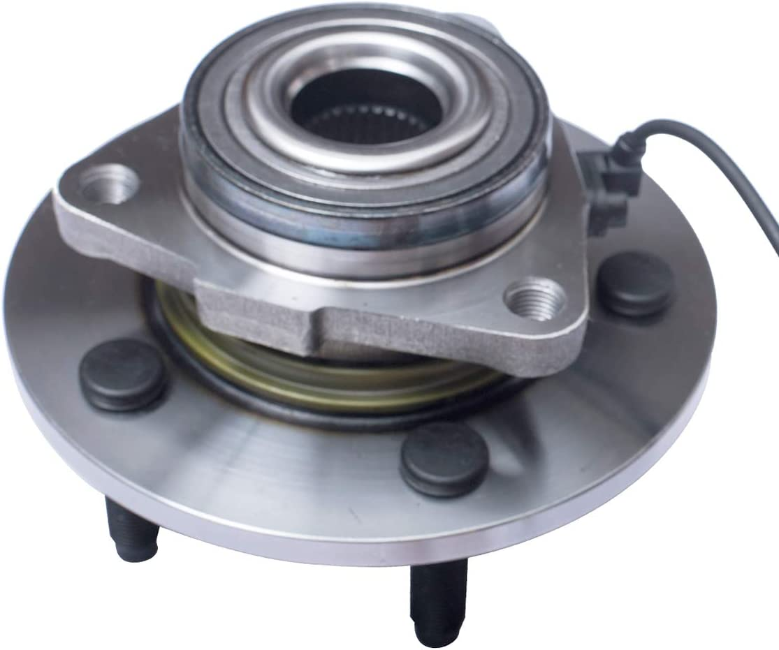 AUTOMUTO Front Wheel Hub Assembly Compatible with 2012-2018 for Ram 1500 HA590515 5 Lugs w//ABS 1pc