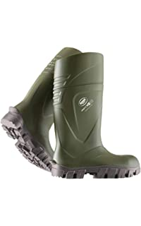 Safety & Security Men's Work & Utility Footwear PDL Acifort Heavy Duty F/S Green Welly Wellington Boot Wellies HGA442631