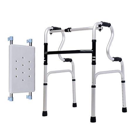 GYDXY Marco para Caminar discapacitado Plegable Ligero, Andador ...