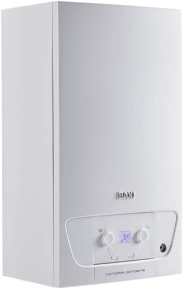 Caldera a gas de condensación mixta, 24/28 kW, serie Victoria Condens GN 28/28F, 28 x 40 x 70 centímetros (Referencia: 7657140)