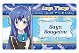 Ange vierge Blue Moon SAE night's plate badge