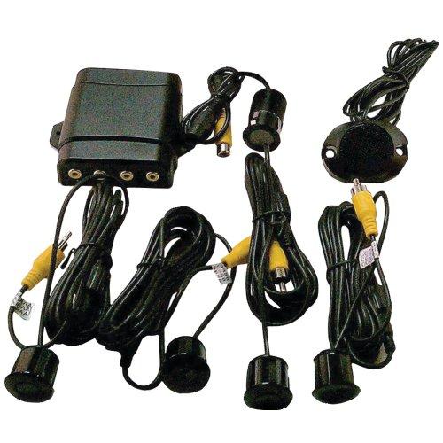 Sensor Crime Stopper - Crimestopper CA-5030 4-Sensor Parking Assist and Back-Up Camera System Interface with In-Dash A/V Monitor