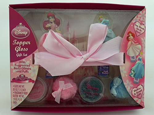 Tween Butterfly Costumes (Disney Princess Topper Gloss Gift Set with Fragranced Body Glitters)