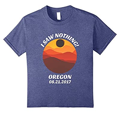 Funny Oregon Solar Eclipse T-Shirt - Mountain Vintage Tee