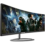 Sceptre C305W-2560UN 30-inch 21:9 Super Curved Ultrawide Creative Monitor 2560x1080p Ultra Slim HDMI DisplayPort up to 85Hz 1ms MPRT FPS-RTS Build-in Speakers, Machine Black 2020