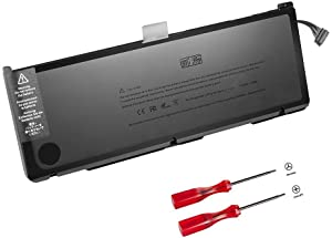 GWY-TECH New Laptop Battery for MacBook Pro 17 inch A1383 A1297 [Only for 2011 Version] 020-7149-A 020-7149-A10 MD311 MC725-12 Months Warranty [10.95V 95Wh]