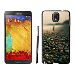 NEW Unique Custom Designed For Case Samsung Galaxy S5 Cover Phone Case With Macro Small Pebbles On The Beach_Black Phone Case