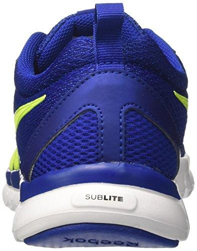 Reebok Sublite Sport, Zapatos para Correr para Hombre Multicolor (Royal/yellow/white)