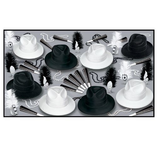 Chicago Asst for 50 Party Accessory (1 count) by Beistle