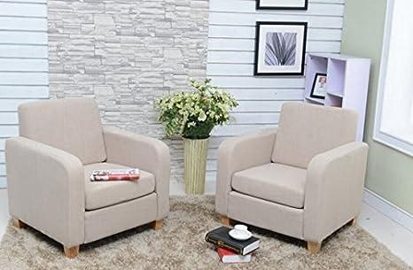 Yopih Tela de Lino sillón de Comedor Sala de Estar salón ...
