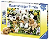 Ravensburger Happy Animal Buddies - 300 Piece Jigsaw Puzzle for Kids - Every Piece is Unique, Pieces Fit Together Perfectly