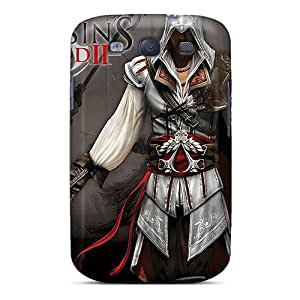 Tpu Fashionable Design Assassins Creed 2 Rugged Case Cover For Galaxy S3 New