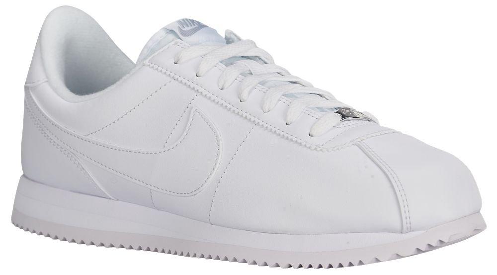 [ナイキ] Nike Cortez - メンズ ランニング [並行輸入品] B072JC54MR US07.0 White/Wolf Grey/Metallic Silver/White