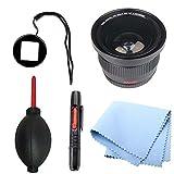 SAVEoN Gopro Lens Adapter with Fisheye Lens Bundle for Hero Hd 1 3 & 3+