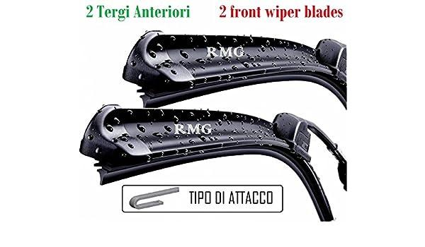 RMG par 2 escobillas limpiaparabrisas delanteras para Civic híbrida fabricado a partir de año 2006 al 2007 tamaños cepillos 70 y 58 cm: Amazon.es: Coche y ...