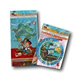 Jake and the Neverland Pirates Party Supply Set - Table Cover and Banner