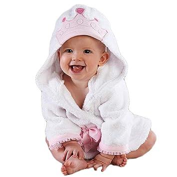LYX Toalla para Bebé con Capucha, 100% Algodón Antibacterial Y Hipoalergénica Toalla para Bebé para Bebés Y Niños Pequeños,130Cm: Amazon.es: Deportes y aire ...