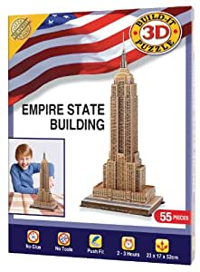 Cheatwell Games Empire State Building - Puzle en 3D, diseño de Empire State Building