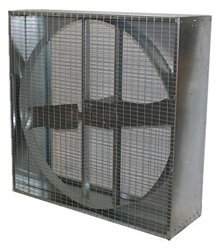 Agricultural Exhaust Fan - 230/460V Direct Drive Agricultural Exhaust Fan, 1HP