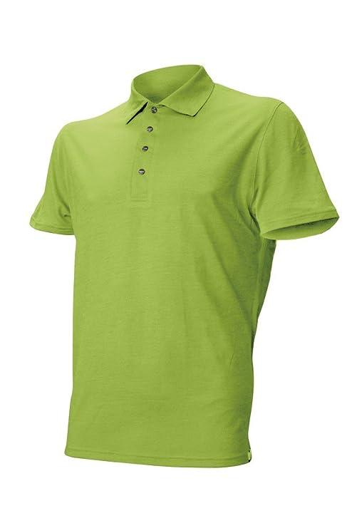 Lasting DINGO Merino Polo de manga corta (T-camiseta de manga ...