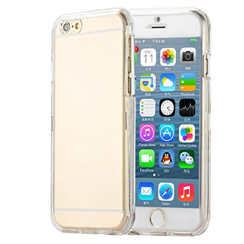 Coromose Crystal Clear Front Back Slim Case for Iphone 6 Plus 5.5 Inch