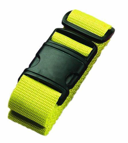 Lewis N. Clark Neon Travel Belt, Yellow