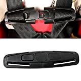 car seat latch clip - LoveStorY Harness Chest Clip Baby Car Seat Safety Strape Belt Lock Tite Harness Clip Buckle Part in Black for Child Safe