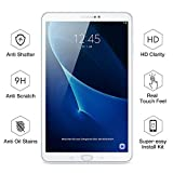 ESR Samsung Galaxy Tab A 10.1 Screen Protector [SM-T585( T580/T580N)], [2 Pack] 0.33mm [9H Tempered Glass][Bubble-Free] Anti-Scratch Anti-Fingerprint/Oil/Smudge for Samsung Galaxy Tab A 10.1