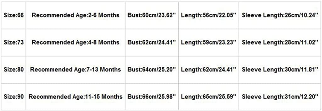 Kuerqi Polka Dot Romper Jumpsuit Thickened Outfits for 2-15 Months Newborn Toddler Baby Boys Girls