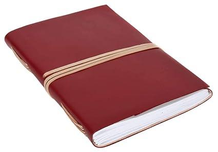Gusti Leder studio Lola libro di pelle agenda diario DIN A6 per foto appunti Universit/à Ufficio marrone 2P6-24-2