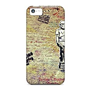 LJF phone case For Harries Iphone Protective Case, High Quality For ipod touch 5 Star Wars Abstract Skin Case Cover