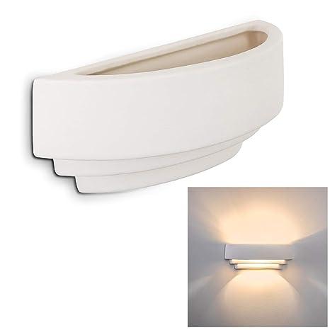 Lámpara de pared VIBIO - 1x E28 60W - Cerámica - Se puede pintar