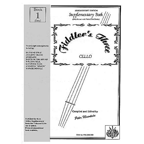 Fiddler's Three Cello Supplementary Book 1 Music Sales America Series Pack of 3