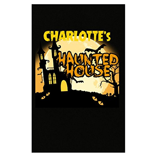 Prints Express Charlotte S Haunted House Halloween Funny College Humor - Poster]()