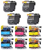 InkClub LC20EBK LC20EC LC20EM LC20EY (XXL) Super High Yield Ink Cartridge Set, Replacement