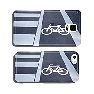 bicycle sign, bicycle sign painted on road surface in Japan cell phone cover case iPhone6 Plus