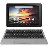 RCA 2017 Viking Pro10 32G 10'' ANDROID 6.0 TABLET WITH DETACHABLE KEYBOARD (Metallic Gray)