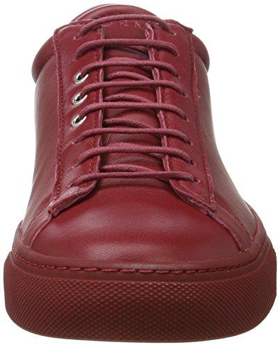 Prima Primaforma, Scarpe da Ginnastica Basse Unisex-Adulto Rosso (Persian Red)