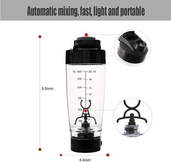 Mezclador de proteínas, Botella licuadora para proteínas y leche ...
