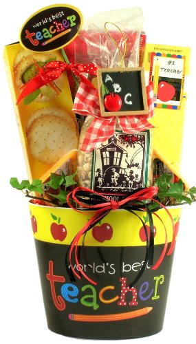 World's Best Teacher, Gift Basket for Teachers