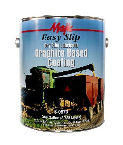 Majic Paints 8-0870-1 Easy Slip Graphite Coating, 1-Gallon, Black