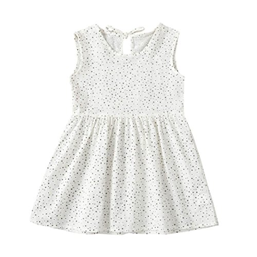 db0e1f0f3 ... para 0-4 años. 60% de descuento vestidos de niña, ASHOP Vestido sin  mangas estampado floral vestidos de
