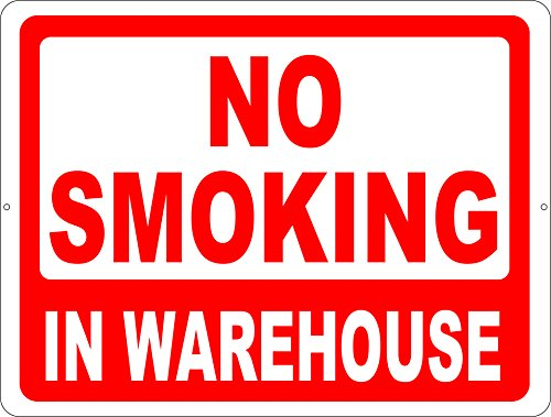 no-smoking-in-warehouse-sign-9x12-metal-warehouse-safety-sign-free-shipping-made-in-usa