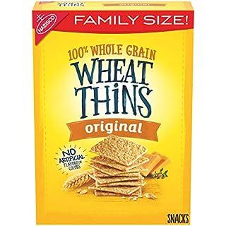Wheat Thins Original Whole Grain Wheat Crackers, Family Size, 16 oz