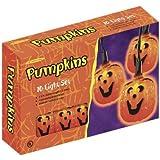 celebrations halloween pumpkin lights 10 lights - Halloween Pumpkin Lights