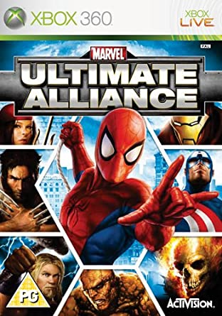 Marvel Ultimate Alliance (Xbox 360): Amazon co uk: PC & Video Games