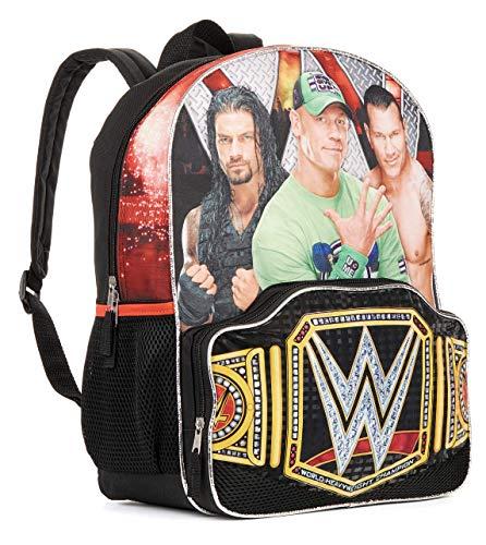 (WWE Wrestling Main Event Title Belt 16 Backpack Bookbag)