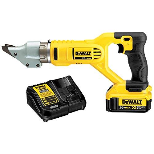 Power Shear Kit - DEWALT DCS494M2 20V MAX 14ga Swivel Head Shear Kit